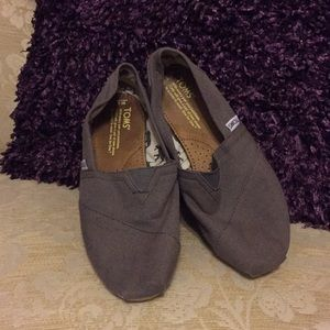 Gray Toms worn a couple of times